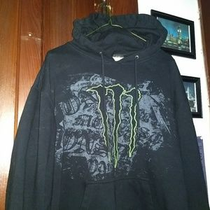 MONSTER HOODIE - Hooded Sweatshirt - Energy - Rare